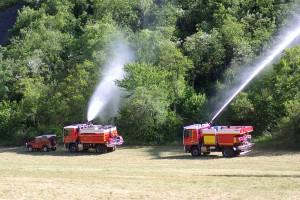 Engins feux de forêt du SDIS 04