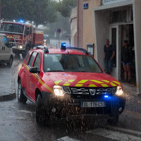 Inondation à Digne-les-Bains