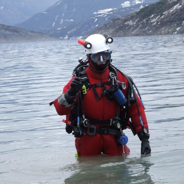 Plongeur du SDIS 04