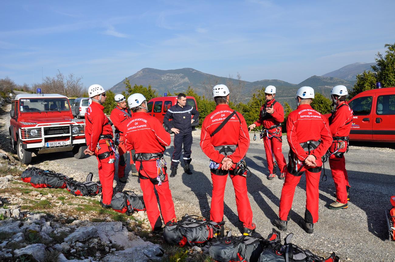 Groupe de secours en montagne sapeurs-pompiers 04 (GSMSP 04)