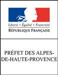 Logo de la Préfecture des Alpes-de-Haute-Provence