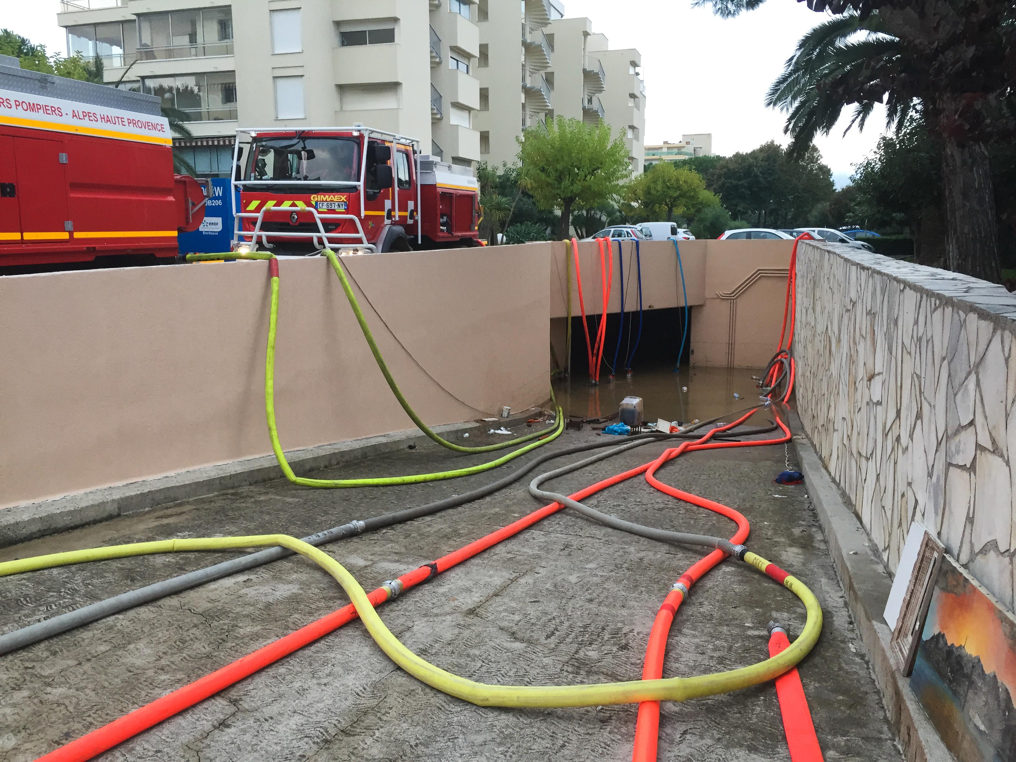 Derni res interventions marquantes du sdis 04 for Cannes piscine municipale