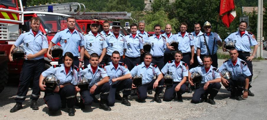 Sapeurs-pompiers-Colmars-les-Alpes