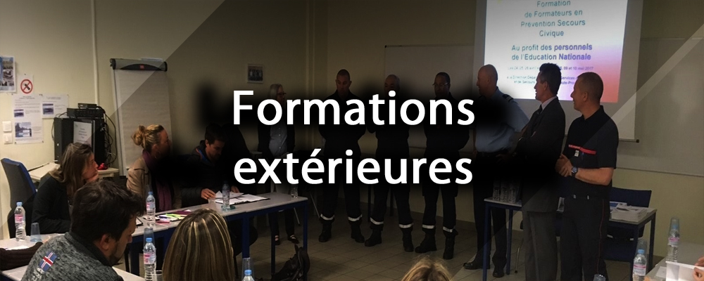 formations exterieures